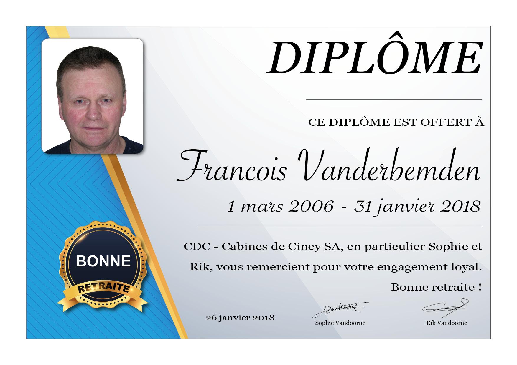 retraite Francois Vanderbemden-FR